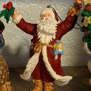 Other - Vintage Christmas Santa Decoration